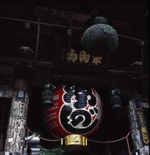成田山新勝寺、魚河岸大提灯